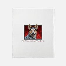 Australian Cattle Dog Throw Blanket