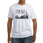 Chicago My Town Fitted T-Shirt