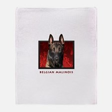 Belgian Malinois Throw Blanket