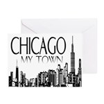 Chicago My Town Greeting Cards (Pk of 10)