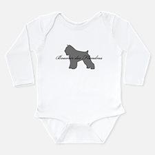 Bouvier des Flandres Long Sleeve Infant Bodysuit