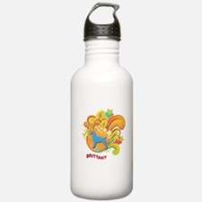Groovy Brittany Water Bottle