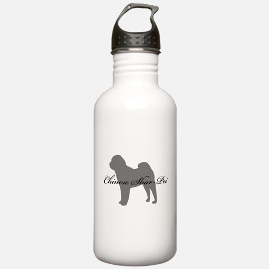 Chinese Shar Pei Water Bottle
