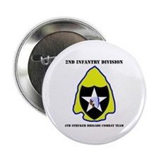 "4th Stryker BCT with Text 2.25"" Button (100 pack)"