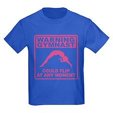 Warning Gymnast Could Flip T