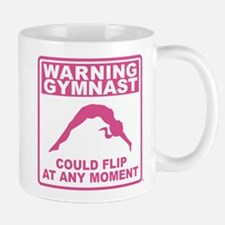 Warning Gymnast Could Flip Mug
