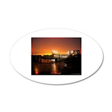 Pittsburgh Sunset Wall Decal
