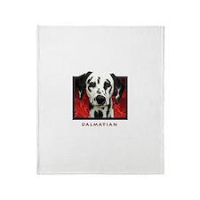 Dalmatian Throw Blanket