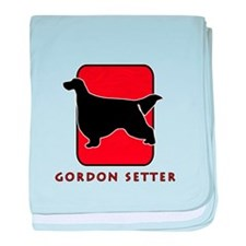 Gordon Setter baby blanket