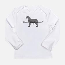 Irish Wolfhound Long Sleeve Infant T-Shirt