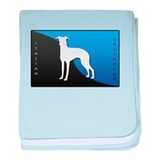 Italian Greyhound baby blanket