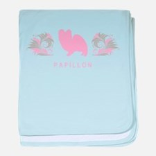"""""""Elegant"""" Papillon baby blanket"""