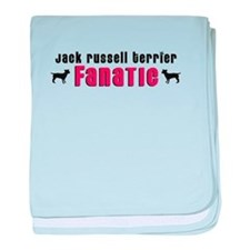 Jack Russell Terrier Fanatic baby blanket