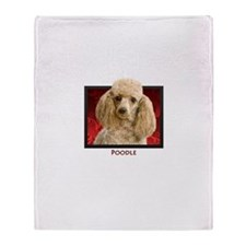Poodle Throw Blanket