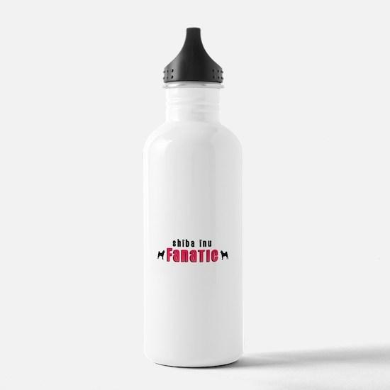 Shiba Inu Fanatic Water Bottle