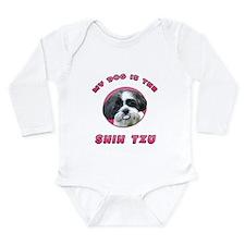 My Dog is the Shih Tzu Long Sleeve Infant Bodysuit
