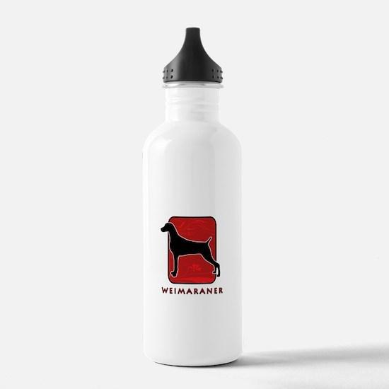 Weimaraner Water Bottle