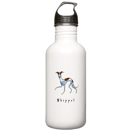 Whippet Illustration Stainless Water Bottle 1.0L