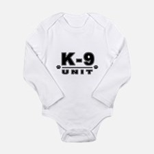 K-9 UNIT Long Sleeve Infant Bodysuit
