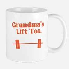 Grandma's lift too Small Small Mug