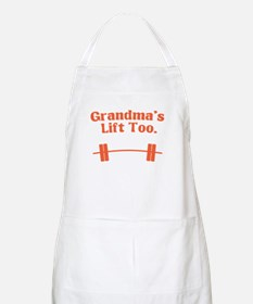 Grandma's lift too Apron