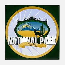 National Park Nerd Tile Coaster