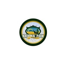 National Park Nerd Mini Button