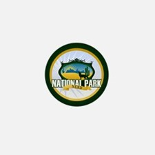 National Park Nerd Mini Button