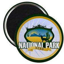 "National Park Nerd 2.25"" Magnet (10 pack)"