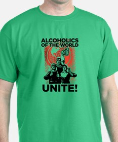Alcoholics of the World Unite T-Shirt