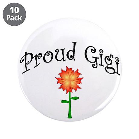 """Proud Gigi 3.5"""" Button (10 pack)"""