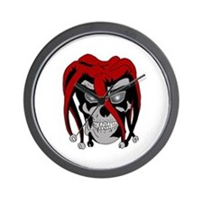 Evil Jester Wall Clock