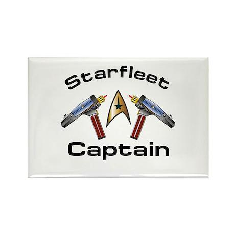 Starship Enterprise Rectangle Magnet (100 pack)