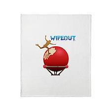 Wipeout Throw Blanket