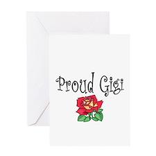 proud gg Greeting Card