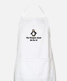 Penguins Made Me Do It Apron