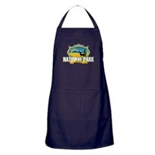 National Park Nerd Apron (dark)