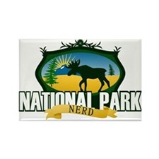 Natl Park Nerd (Ver 2) Rectangle Magnet