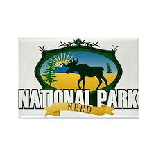 Natl Park Nerd (Ver 2) Rectangle Magnet (10 pack)