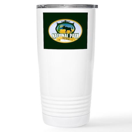 Natl Park Nerd (Ver 2) Stainless Steel Travel Mug