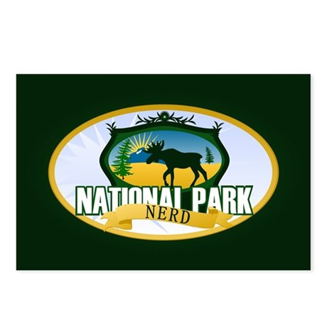 Natl Park Nerd (Ver 2) Postcards (Package of 8)