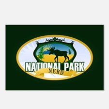 Natl Park Nerd (Ver 2) Postcards (Package of 8)
