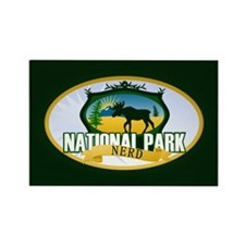 Natl Park Nerd (Ver 2) Rectangle Magnet (10 pack)