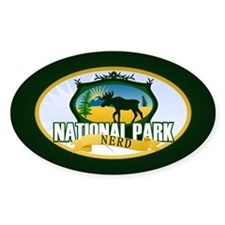 Natl Park Nerd (Ver 2) Decal
