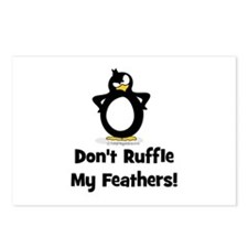 Don't Ruffle My Feathers Postcards (Package of 8)