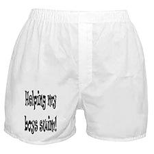 No Baby on Board Boxer Shorts