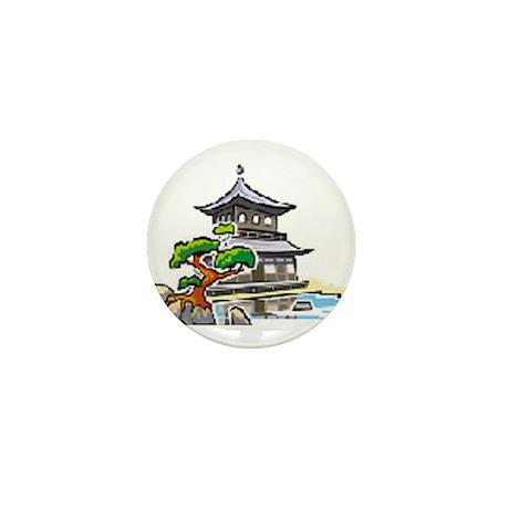 Tea House Koi Society Mini Button