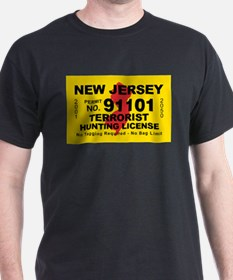 New Jersey Terrorist Hunting T-Shirt