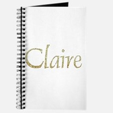 Claire Gold Journal