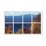 Mountain View Window A faux window 22x14 Wall Peel